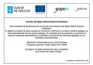 CARTEL GALICIA EXPORTA